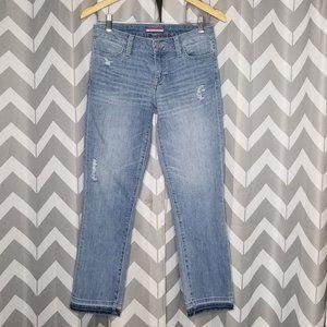 TOMMY HILFIGER distressed denim jeans